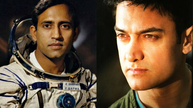 This is going to be the title of Rakesh Sharma's biopic featuring Aamir Khan!