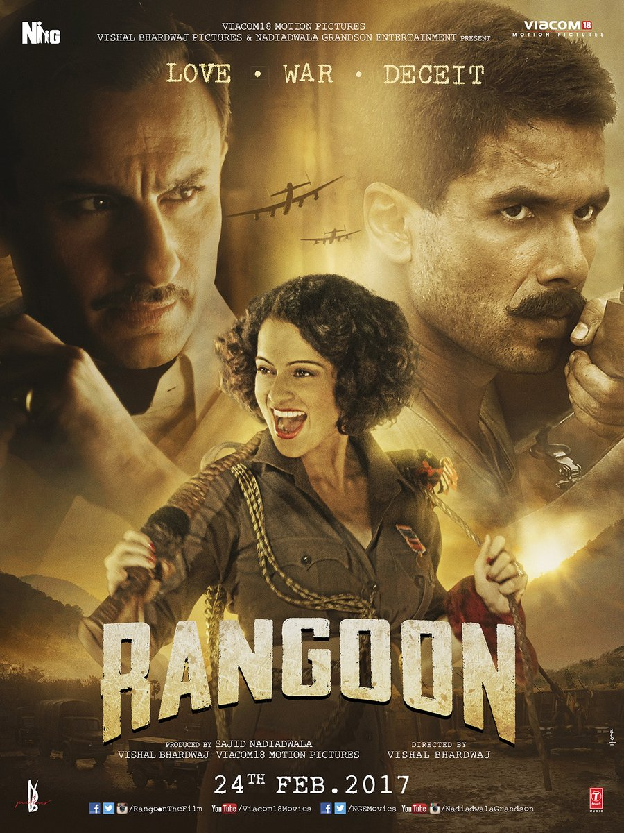 Rangoon Movie Details: Star Cast, Release Date, Box Office Collection, Trailer, Video Songs And Latest Updates