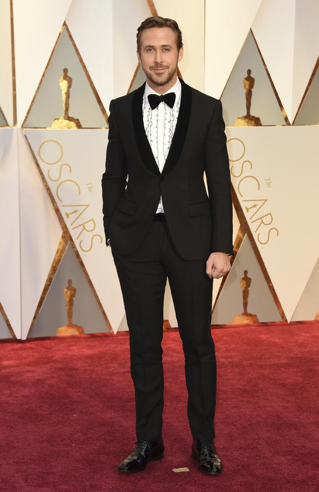 Celebrities Style Files Oscars 2017 - Ryan Gosling