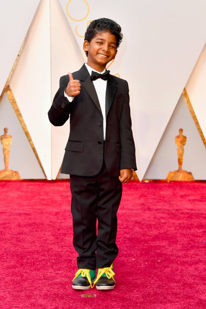 Celebrities Style Files Oscars 2017 - Sunny Pawar