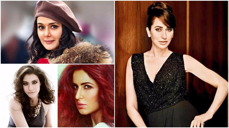 Top Bollywood Actresses Who Have Worked With All Three Khans!