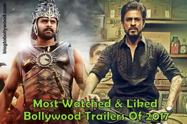 Most Watched, Liked Bollywood Trailers Of 2017: Raees, Bahubali 2 & Kaabil