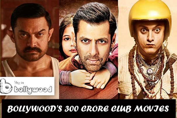 Bollywood's 300 Crore Club Movies With Box Office Collection, Actors, Actresses Details