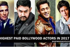 List Of The Highest Paid Bollywood Actors In 2017 On The Basis Of Per Film Salary