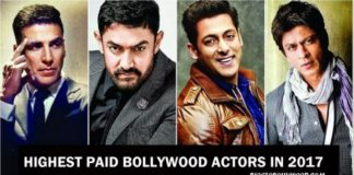 Highest Paid Bollywood Actors In 2017