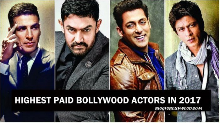 List Of The Highest Paid Bollywood Actors In 2017 On The ...