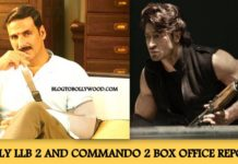 Jolly LLB 2 4th weekend collection, commando 2 first weekend collection