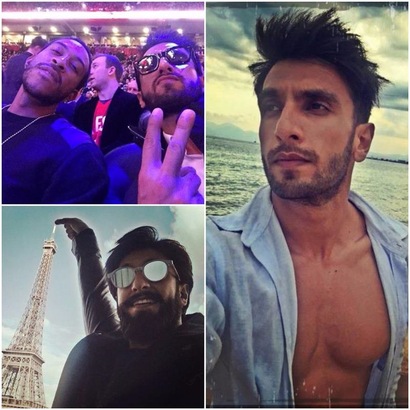 Which actor is the Selfie King of Bollywood?- Ranveer