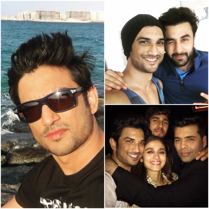 Which actor is the Selfie King of Bollywood?- Sushant