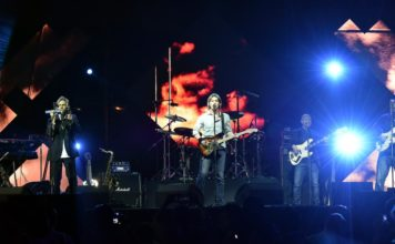 The Dire Strait Experience performed in Gurgaon