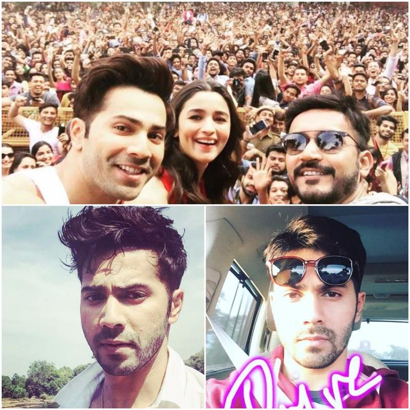 Which actor is the Selfie King of Bollywood?- Varun