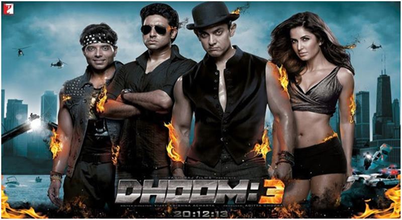 The Journey of Bollywood from 1 crore to 300 crore: The Crore Clubs of Bollywood-Dhoom 3