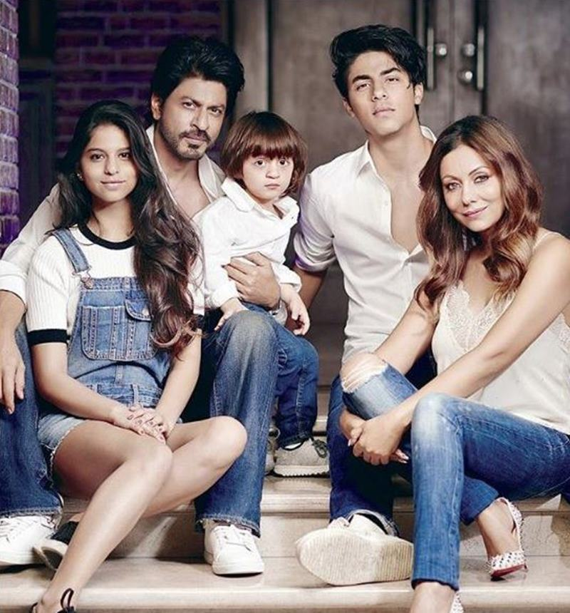 The first family of Bollywood: Find out all about Shah Rukh Khan's family in here!