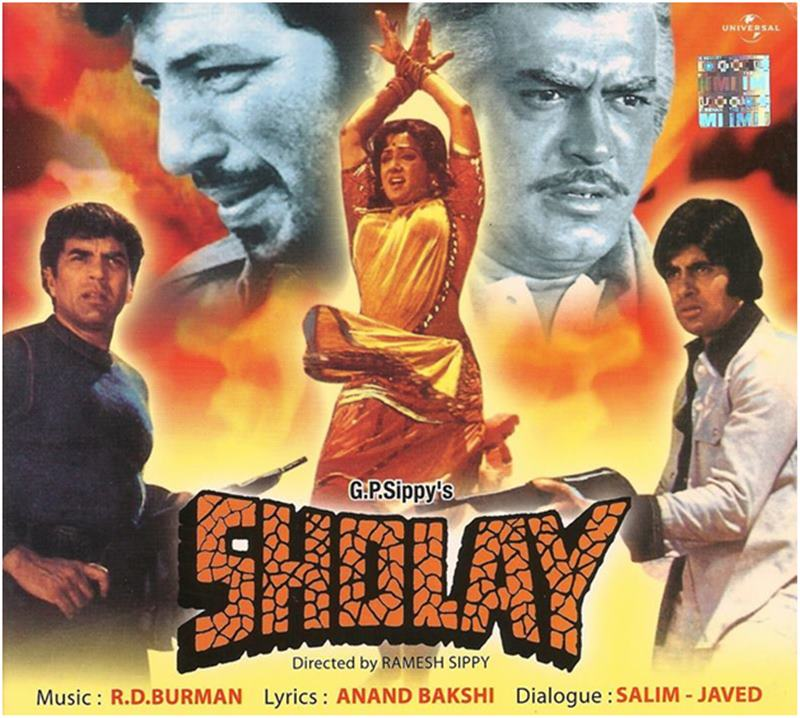 The Journey of Bollywood from 1 crore to 300 crore: The Crore Clubs of Bollywood-Sholay