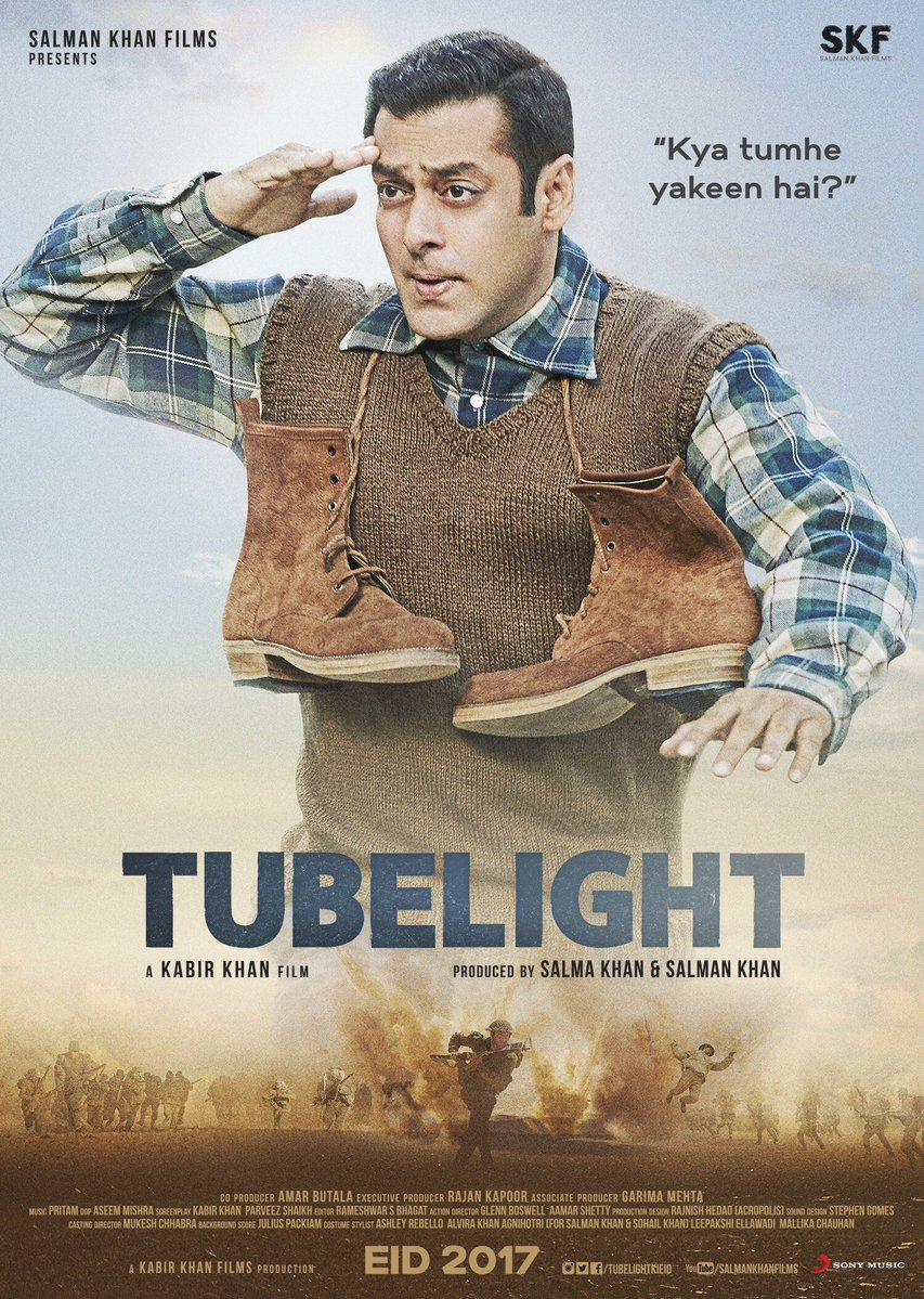 Tubelight second poster