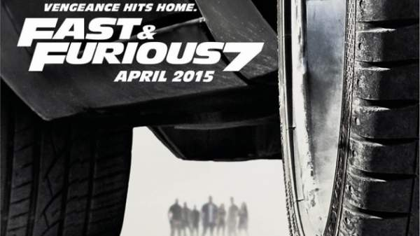 fats and Furious 7 poster