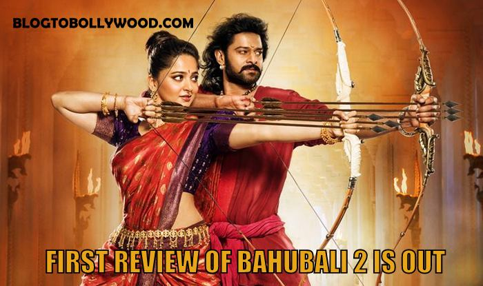 The first review of Bahubali 2 is out! Umair Sandhu gives 5 stars to Prabhas and Anushka Shetty Film