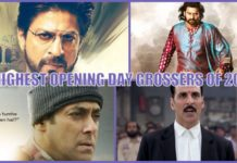 Top Opening Day Grossers Of 2017 - Highest first day collection 2017