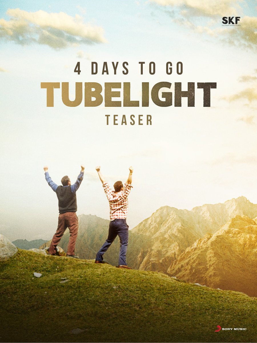 4 days to tubelight teaser