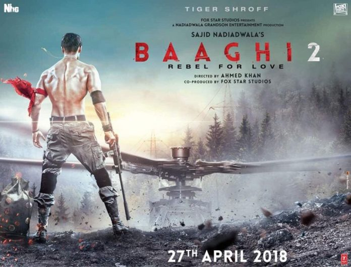 Baaghi 2 poster: Tiger Shroff looks in great shape, to challenge Hollywood action icons