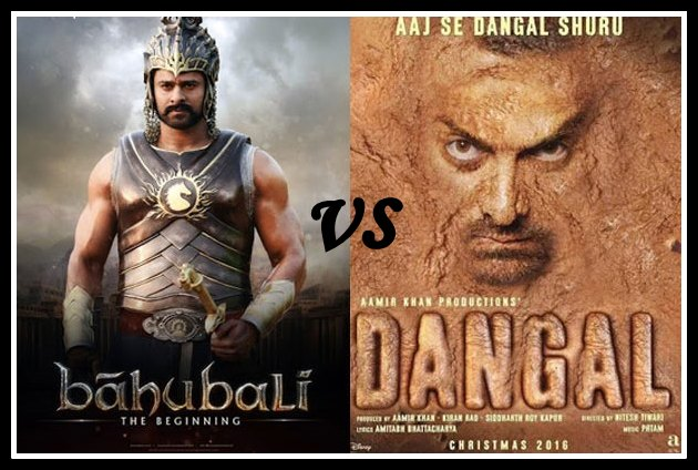 Bahubali 2 Vs Dangal Box Office Collection Comparison In India: Lifetime Report
