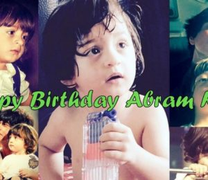 Happy Birthday Abram Khan: Here are some cute and adorable pics of Shah Rukh Khan's Dear son