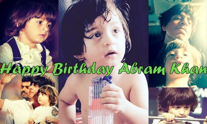 Happy Birthday Abram Khan