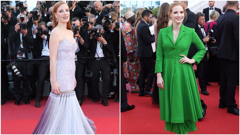 Best and Worst Dressed at Cannes 2017- Jessica