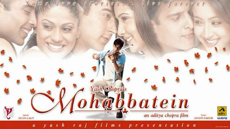 8 Shah Rukh Khan films based on Hollywood movies- Mohabbatein