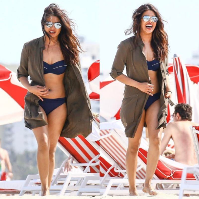 Priyanka Chopra on Miami beach melts heart with her uber sexiness!-7