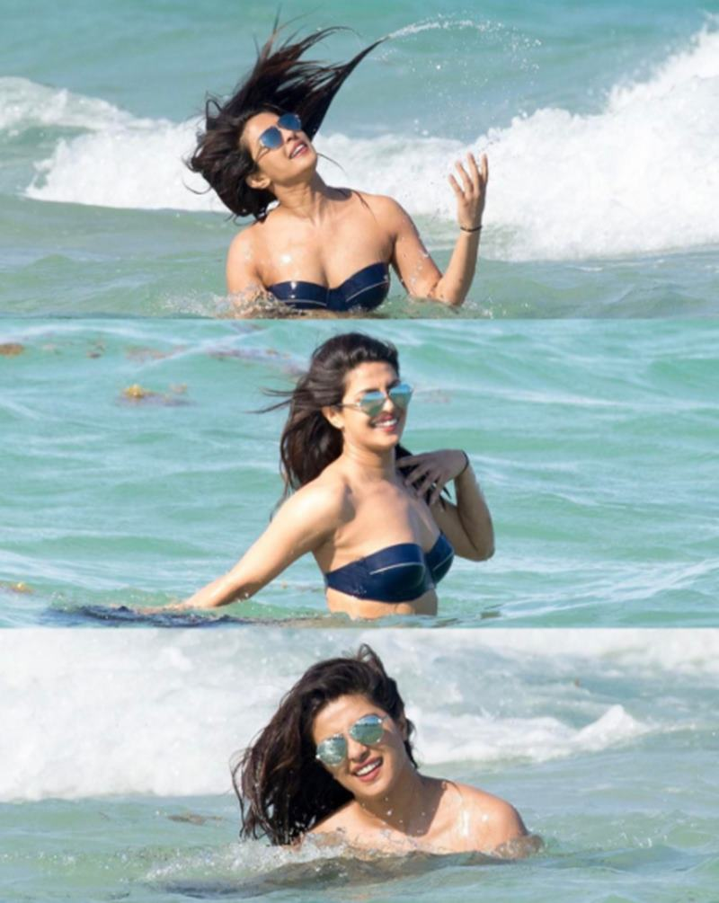 Priyanka Chopra on Miami beach melts heart with her uber sexiness!-8