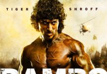 Tiger Shroff looks like a beast in the first look of Rambo!