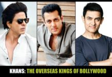 SRK, Salman and Aamir - The overseas stars of Bollywood