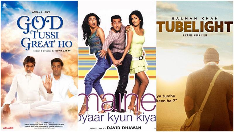 6 Salman Khan Films based On Hollywood Movies We bet You Don't Know About