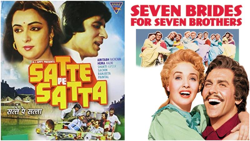 Most Amazing Hollywood Remakes in Bollywood- Satte Pe Satta