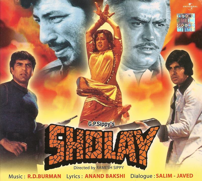 Best Bollywood Movies featuring real life couples- Sholay