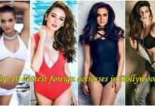 Top 10 hottest foreign actresses in Bollywood