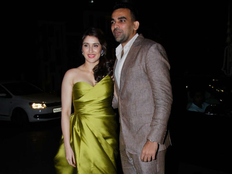 Zaheer Khan-Sagarika Ghatge are officially engaged now, check out the pics here- 3