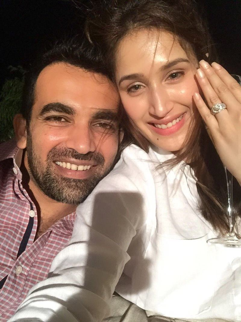Zaheer Khan-Sagarika Ghatge are officially engaged now, check out the pics here- 5