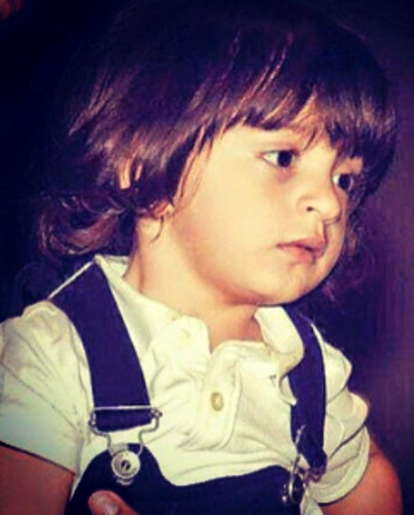 Abram Khan is cuteness personified