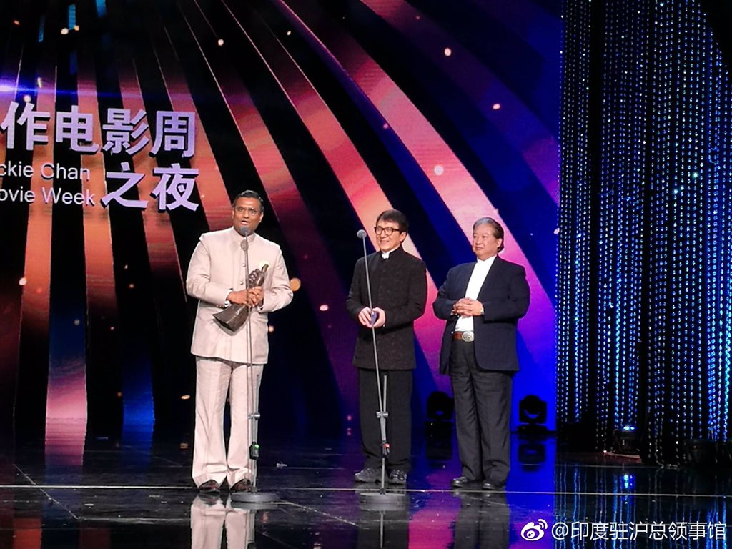 Sultan Won Best Action Movie Award At Shanghai International Film Festival