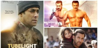 Tubelight Vs Sultan Vs Bajrangi Bhaijaan First Weekend Collection Comparison