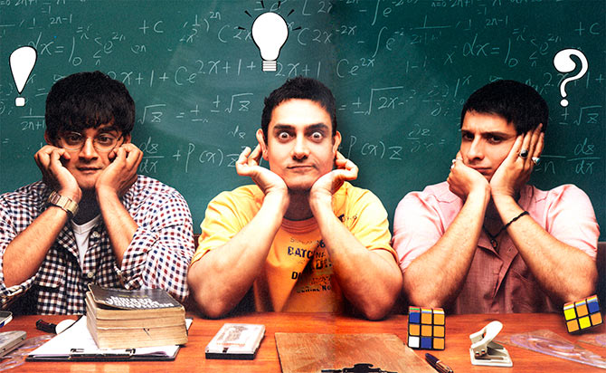 Bollywood Movies That Gave Us Social Message - 3 Idiots