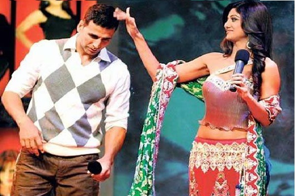 Akshay and Shilpa in Bigg Boss episode