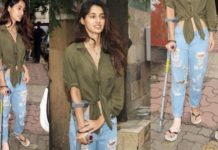 Professionalism Redefined: Bollywood Actresses Who Got Injured While Shooting - Disha Patani injured