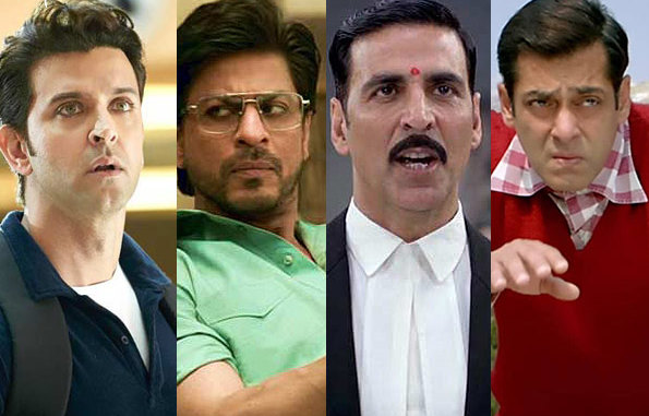 SRK, Salman, Akshay or Hrithik - vote for the best actor in the first half of 2017?