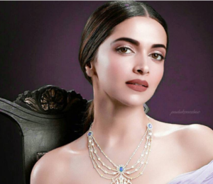 Deepika Padukone looks royal for a jewellery brand photo shoot
