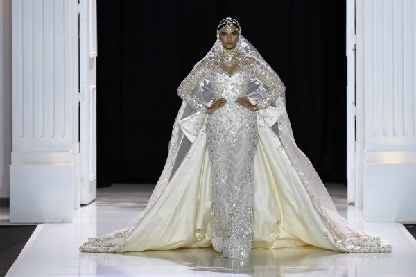 Sonam Kapoor walks the ramp for Ralph & Russo at the Paris Fashion Week 2017!