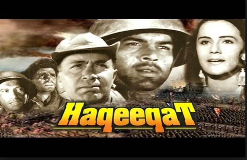 best bollywood movies on independence day - Haqeeqat