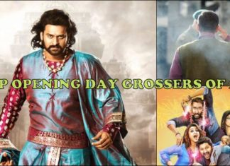 TOP OPENING DAY GROSSER OF 2017 - Bahubali 2